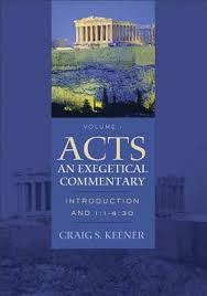 Acts An Exegetical Commentary Vol 1 Introduction And 11