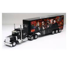 100 Semi Truck Toy Newray 132 Scale Peterbilt 379 Aerosmith Rock Band Trailer 12533