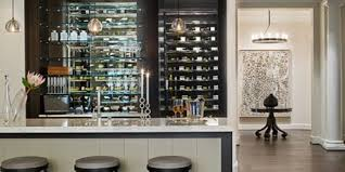 Decorating Agreeable Full Wall Custom Floating Shelves In The ... Shelves Decorating Ideas Home Bar Contemporary With Wall Shelves 80 Top Home Bar Cabinets Sets Wine Bars 2018 Interior L Shaped For Sale Best Mini Shelf Designs Design Ideas 25 Wet On Pinterest Belfast Sink Rack This Is How An Organize Area Looks Like When It Quite Rustic Pictures Stunning Photos Basement Shelving Edeprem Corner Charming Wooden Cabinet With Transparent Glass Wall Paper Liquor Floating Magnus Images About On And Wet Idolza