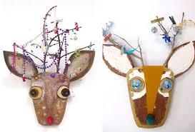 Upcycled Christmas Reindeer Craft For Kids