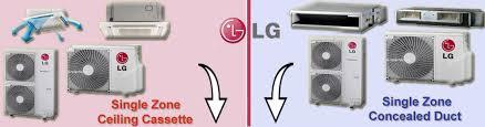 Lg Ceiling Cassette Mini Split by Lg Split Air Conditioner Ductless Mini Split Ac Heat Pump Unit