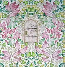 Johanna Basford Secret Garden Enchanted Forest Colouring In