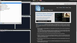 Tiling Window Manager Ubuntu by Feeble Nerd Xubuntu With I3 Tiling Windows Walkthrough