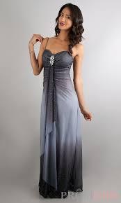 black and white ombre prom dress google search bridesmaid