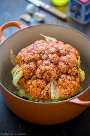 cuisine chou chou fleur rôti au paprika fumé recette de oliver jujube