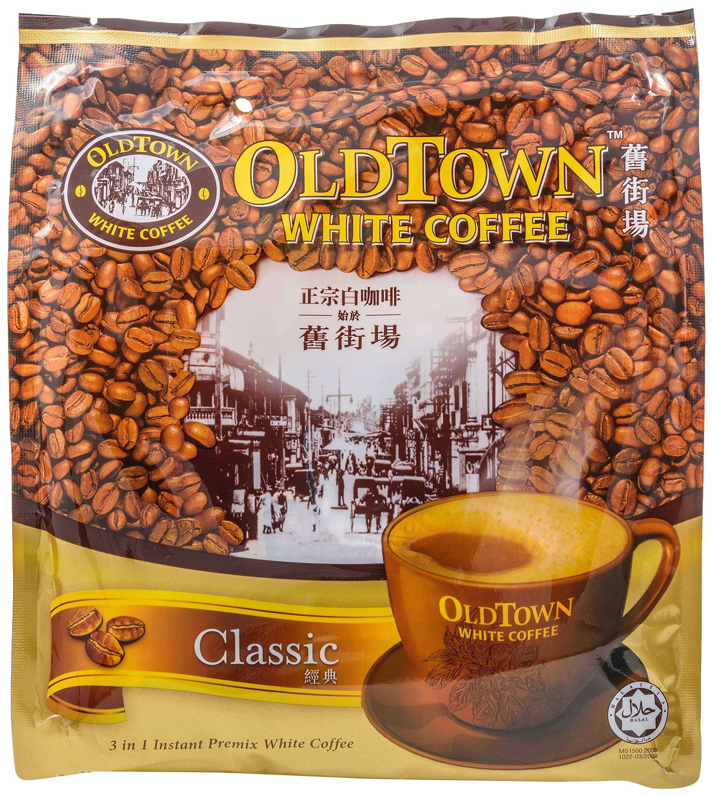 Old Town 3 in 1 Classic White Coffee - 15 x 40g