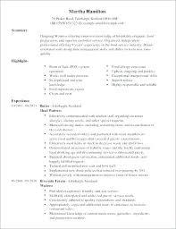 Modern Resume Examples Sample Bartender Design Waitress Example Objectives Executive Samples Restaurant Hostess