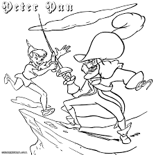 Tinkerbell Maybe Birthday Creative Ideas Peter Pan Coloring Pages To Download And Print
