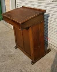 teacher headmasters lectern pulpit desk c1930 40s very rare