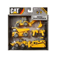 CAT Mini Machine 5 Pack | Toys