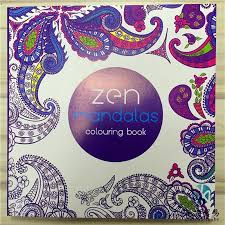 2016 Newest Zen Mandalas Books Colouring Coloring 128 Pages DHL Free