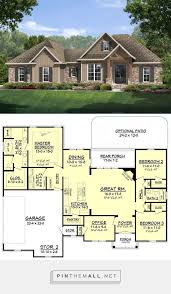 Craftsman Style Floor Plans by 44 Best House Plans Images On Pinterest Architecture Dream