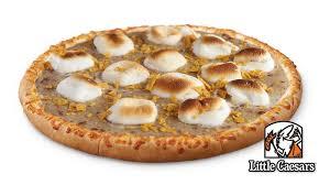Little Caesars Marketing New Marshmallows N Gravy Pizza Directly To President