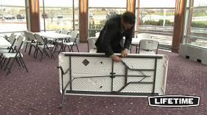 Lifetime 6 Ft. Commercial Folding Tables & Chairs Combo - YouTube Lifetime 72 In Black Plastic Stackable Folding Banquet Table280350 Luan 18x72 6 Ft Seminar Wood Table Vinyl Edging Bolt Solid Trestle 8 Folding Chairs Set Best Price Barnsley Uk For Rent Portable 6ft Rattan Design Fniture Lerado 6ft Foldin Half Rect Table Raptor Almond Table22900 Home Depot Canada Tables 6ft And Chairs Lennov 18m Outdoor Camping With Ft Commercial Combo Youtube Exciting Cosco Interesting Tfh Gazebos And Chair Set Indoor Use