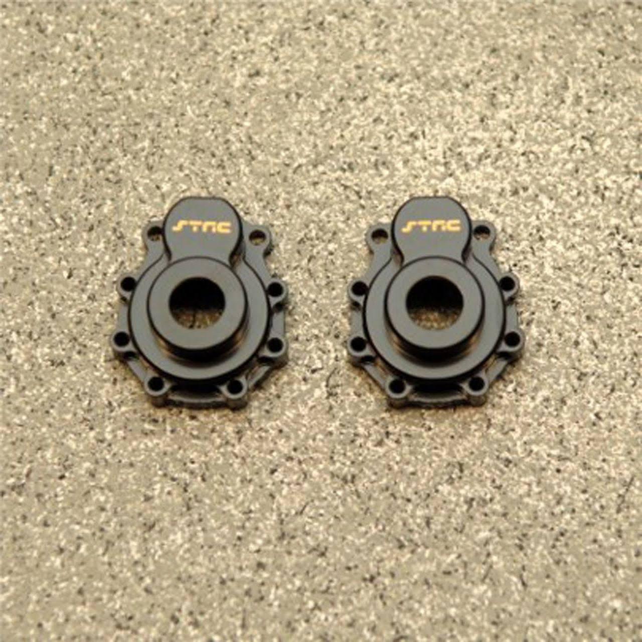 ST Racing Concepts Brass Outer Portal Drive Housi TRX-4 Black (1 Pair) CNC