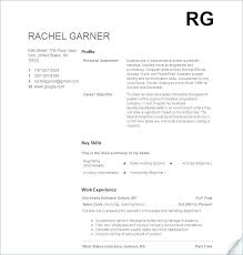 Work Experience Examples For Resume Sample Restaurant