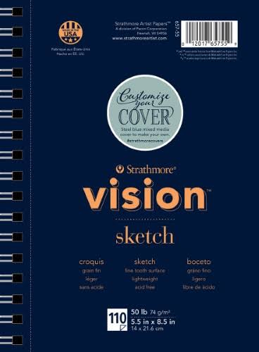Strathmore Vision Sketch Pad - 5.5in x 8.5in
