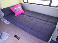 Rv Jackknife Sofa With Seat Belts by Rv Renovation Jackknife Couch Before After Ikea Futon Rv And