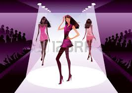 Fashion Clipart Runway Model 14