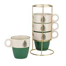 Spode Christmas Tree Peppermint Mugs Spoons by Spode Christmas Tree S3324 Christmas Lights Decoration