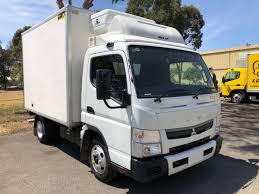 100 Fuso Truck 2018 Canter 515 Wide CAB MAN Fridge Daimler S Adelaide