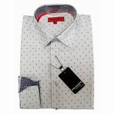 red polka dot white dress shirt vintage men suits