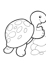 Free Coloring Pages Baby Animals