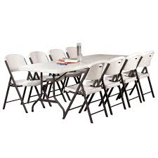 Lifetime 8-Foot Commercial Folding Table - Features A 96