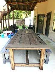Diy Chairs Large Size Of How To Build Outdoor Dining Table Building Winter Pallet Plans