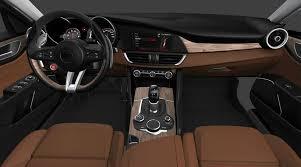 Chestnut interior rendering Alfa Romeo Giulia Forum