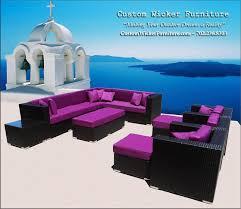Broyhill Outdoor Patio Furniture by Patio Furniture Set Java U0026 Plum Shown