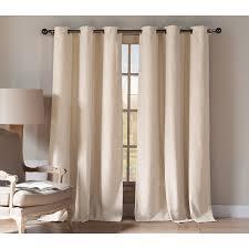 shop duck river textile 84 in linen polyester grommet light