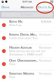 How to Delete All Messages at the Same Time on Your iPhone  iOS