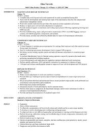 Download Repair Technician Resume Sample As Image File