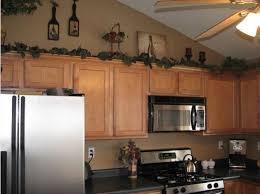 Wine Kitchen Decor Theme Ideas Above Cabinets
