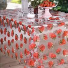 nappe toile ciree au metre nappe transparente épaisse en plastique toile cirée au mètre cristal
