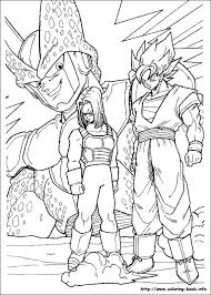 Dragon Ball Z Coloring Page O Mature Colors