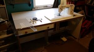 Koala Sewing Cabinets Ebay by Omg Craigslist Score Horn Sewing Table With Airlift For 200