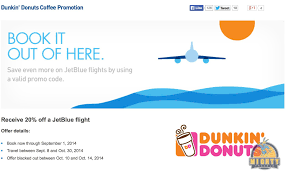 20% Off Jetblue With Dunkin Donuts Purchase [in New York ... Best Coupon Code Travel Deals For September 70 Jetblue Promo Code Flight Only Jetblue Promo Code Official Travelocity Coupons Codes Discounts 20 Save 20 To 500 On A Roundtrip Jetblue Flight Milevalue How Thin Coupon Affiliate Sites Post Fake Earn Ad Sxsw Prosport Gauge 2018 Off Sale Swoop Fares From 80 Cad Gift Card Scam Blue Promo Just Me Products Natural Hair Chicago Ft Lauderdale Or Vice Versa 76 Rt Jetblue Black Friday Yellow Cab Freebies