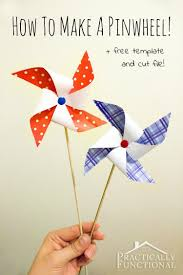 How To Make A Pinwheel Step By Instructions For Making Pinwheels In Any Color Plus Free Printable Template And Cut File