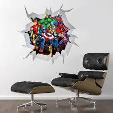 marvel wall decor wall shelves