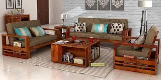 Sofa Design In Wood Wooden Desh Stunning