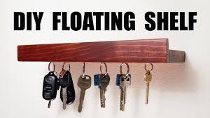 Free Woodworking Plans Floating Shelves by Diy Floating Shelf Youtube