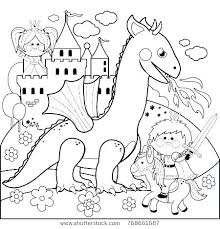 Fire Breathing Dragon Colouring Pages Realistic Coloring Of Dragons Free