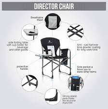 ALPHA CAMP Heavy Duty Folding Chair Oversized Director's ... 8 Best Heavy Duty Camping Chairs Reviewed In Detail Nov 2019 Professional Make Up Chair Directors Makeup Model 68xltt Tall Directors Chair Alpha Camp Folding Oversized Natural Instinct Platinum Director With Pocket Filmcraft Pro Series 30 Black With Canvas For Easy Activity Green Table Deluxe Deck Chairheavy High Back Side By Pacific Imports For A Person 5 Heavyduty Options Compact C 28 Images New Outdoor
