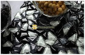 bulk particles black glass mosaic tiles for living room