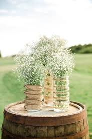 Dress Up Mason Jars Or Vases With Some Burlap And Twine I Like The Way