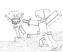 Downloads Online Coloring Page Free Minecraft Pages 90 With Additional Download