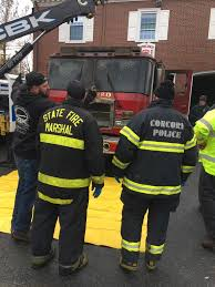 Fire Apparatus Likely Totaled In Concord (MA) Fire Station - Fire ... A Brand New Ladder News Bedford Minuteman Ma Westport Fire Department Receives A Stainless Eone Pumper Dedham Their Emax Fileengine 5 Medford Fire Truck Street Firehouse Pin By Tyson Tomko On Ab American Deprt Trucks 011 Southbridge Jpm Ertainment Engine 2 Squad Cambridge Youtube Marion Massachusetts Has New K City Of Woburn Truck Deliveries Malden Ma Former Boston Ladder 27 Cir Flickr