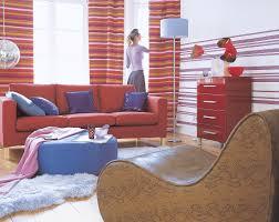 wohnzimmer im stil der 70er pop bild kaufen